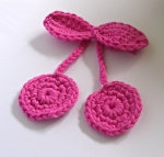 Crocheted Cherries