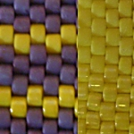 Yellow Beading Experiments