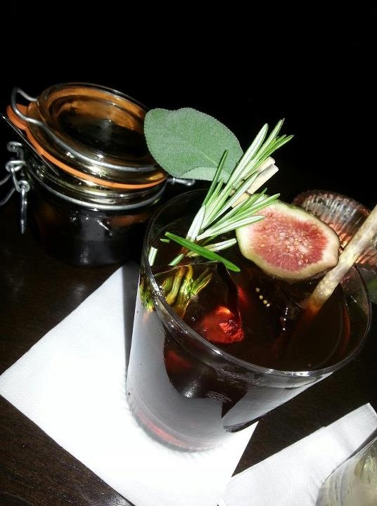 Nightjar :: Mediterranean Shrub with added shrub and preserved fruit in the jar. Photo c/o Julie Smallwood