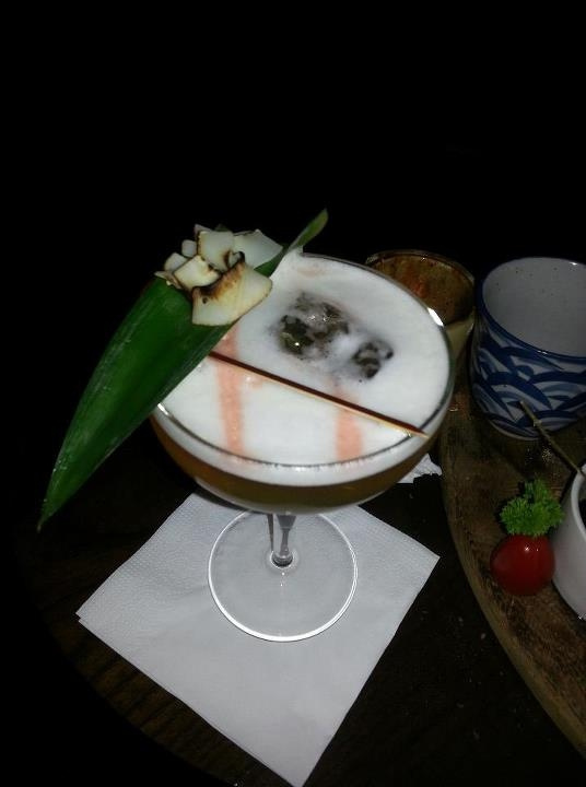 A pina colada like you've never had before. Photo c/o Julie Smallwood