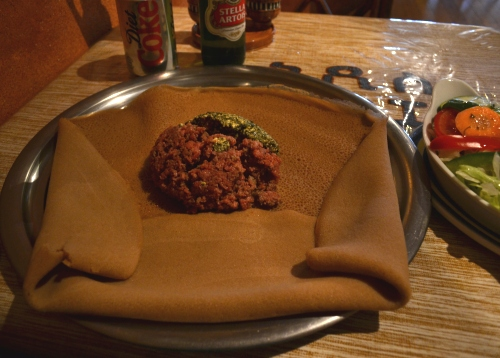 Injera and Kifto