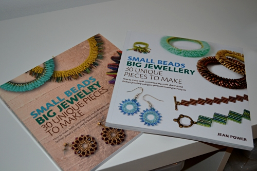 Small Beads Big Jewelry Is Here! :: The two different cover options