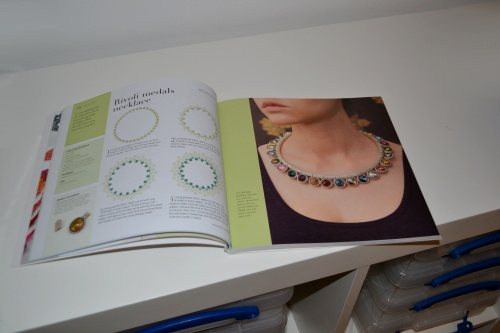 Small Beads Big Jewelry Is Here! :: My 'Rivoli Medals' project which is an interchangeable piece