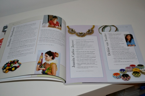 Small Beads Big Jewelry Is Here! :: The book also contains profiles/ interviews with the other designers