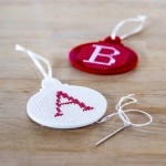 Cross-Stitch Baubles
