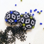 A Selection Of Geometric Beaded Beads