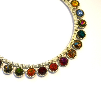 My interchangeable 'Rivoli Medals' necklace is one of 20 projects from me