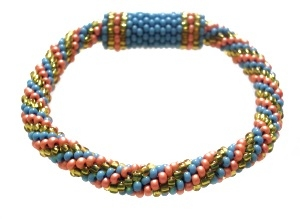 Beaded Oval Dolie Free Crochet Pattern - Donna's Crochet
