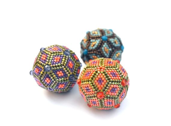 Beaded Brick Stitch Bead