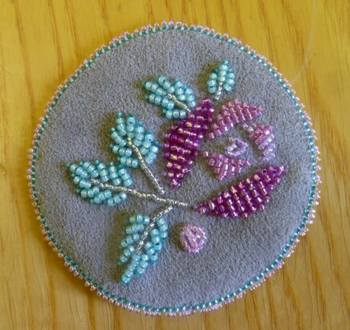 Jeanpower Blog Bead Embroidery Class 2013 Day 5